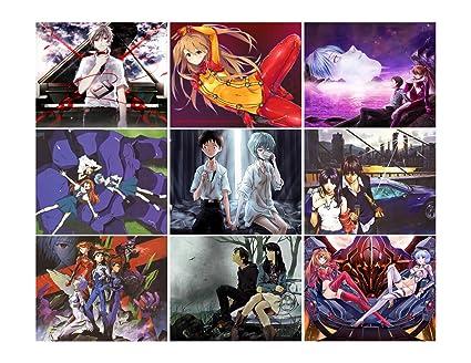 Large Stickers 9 Pics 25quotx35quot Each Evangelion Anime Manga
