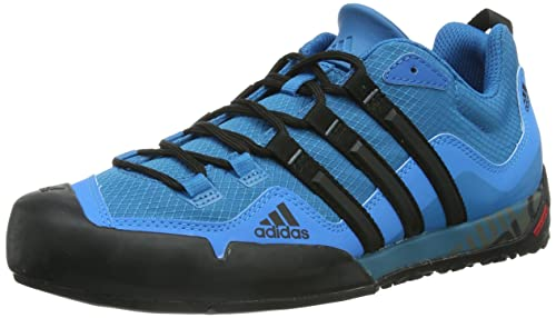 new product 299e4 4faf5 adidas Men s Terrex Swift Solo D67033 Multisport Outdoor Shoes, Blue, 6 UK