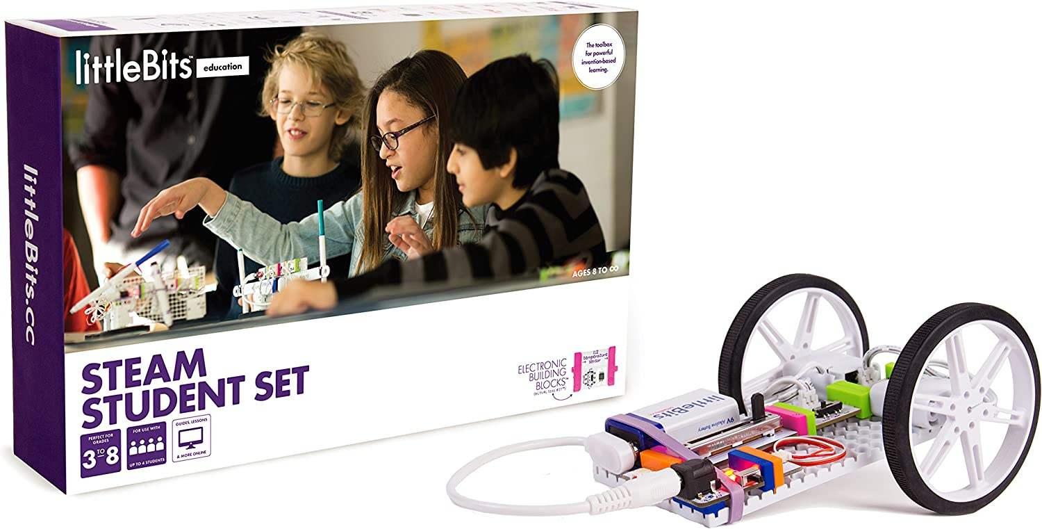littleBits STEAM Student set, Up to 3-students
