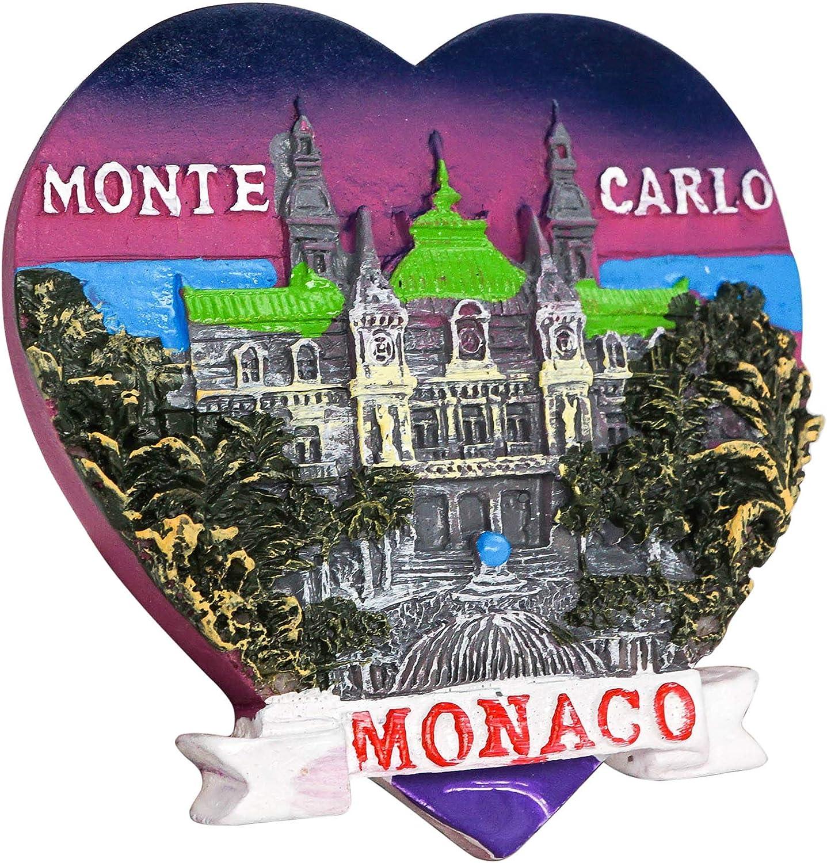 Monaco-Monaco-Souvenir-Réfrigérateur Magnétique-VOYAGE SOUVENIR 011