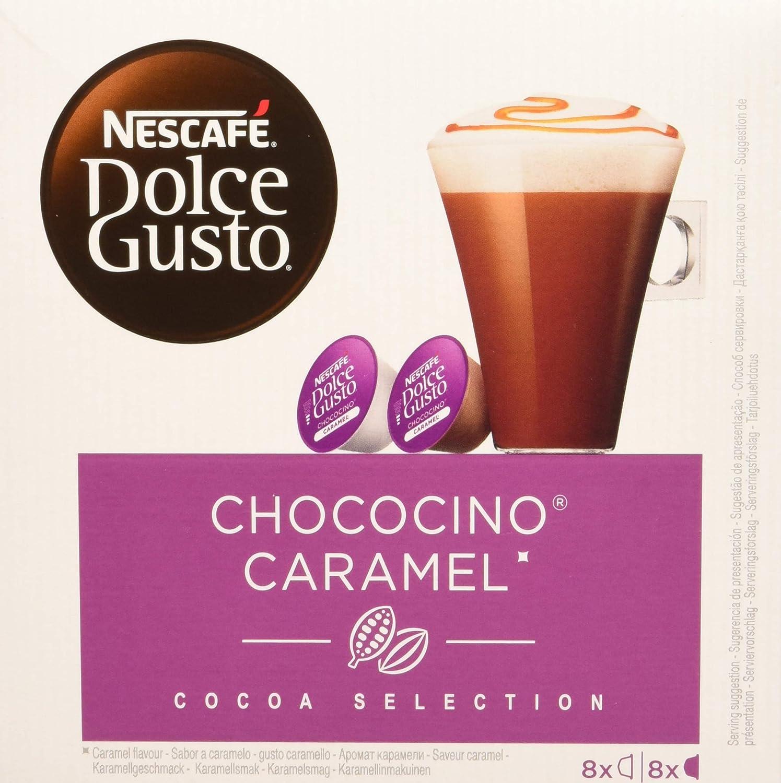 NESCAFÉ Dolce Gusto Café Chococino Caramel, Pack de 3 x 16 ...