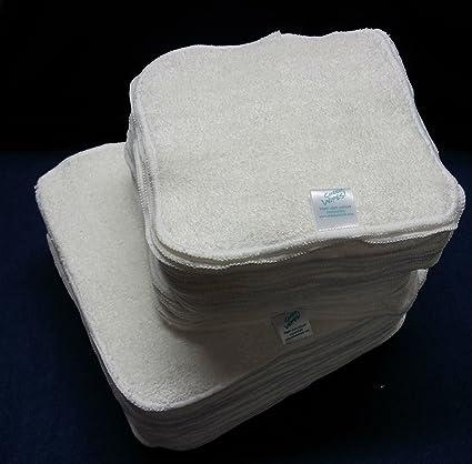 Cheeky Wipes - Toallitas reutilizables de tela de bambú para bebé, 25 unidades
