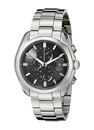 39ef78c86f5 Amazon.com  Citizen Men s CA0020-56E Eco-Drive Titanium Watch  Citizen   Watches