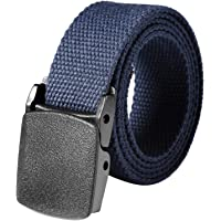 Gugio Cinturón Táctico Militar Ajustable Cintura Hombres Lona Nylon Hebilla Plástica