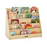ECR4Kids Birch Hardwood Single-Sided Bookcase
