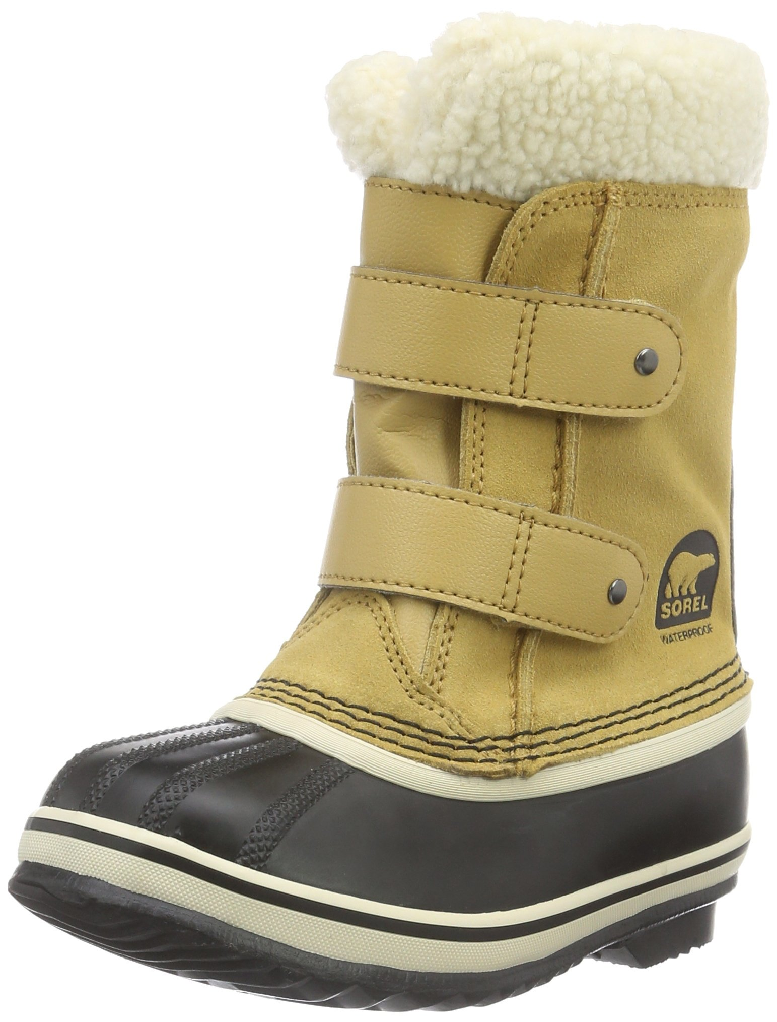 Sorel Childrens 1964 Pac Strap Snow Boot, Green - 13 M US Little Kid