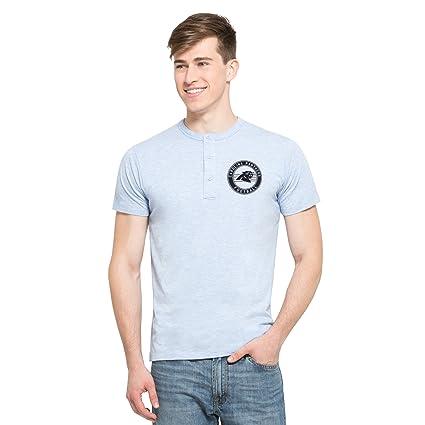 Amazon.com    47 NFL Men s Roost Short Sleeve Henley Shirt   Sports ... 80272a80c