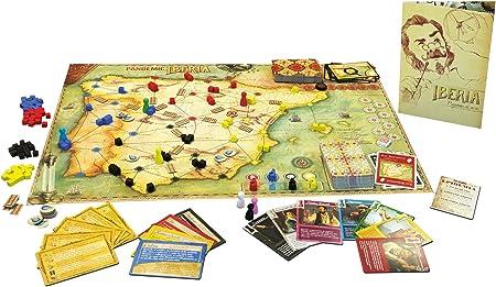 Asmodee Asterion – Pandemic Iberia, Edición Italiana: Amazon.es: Juguetes y juegos
