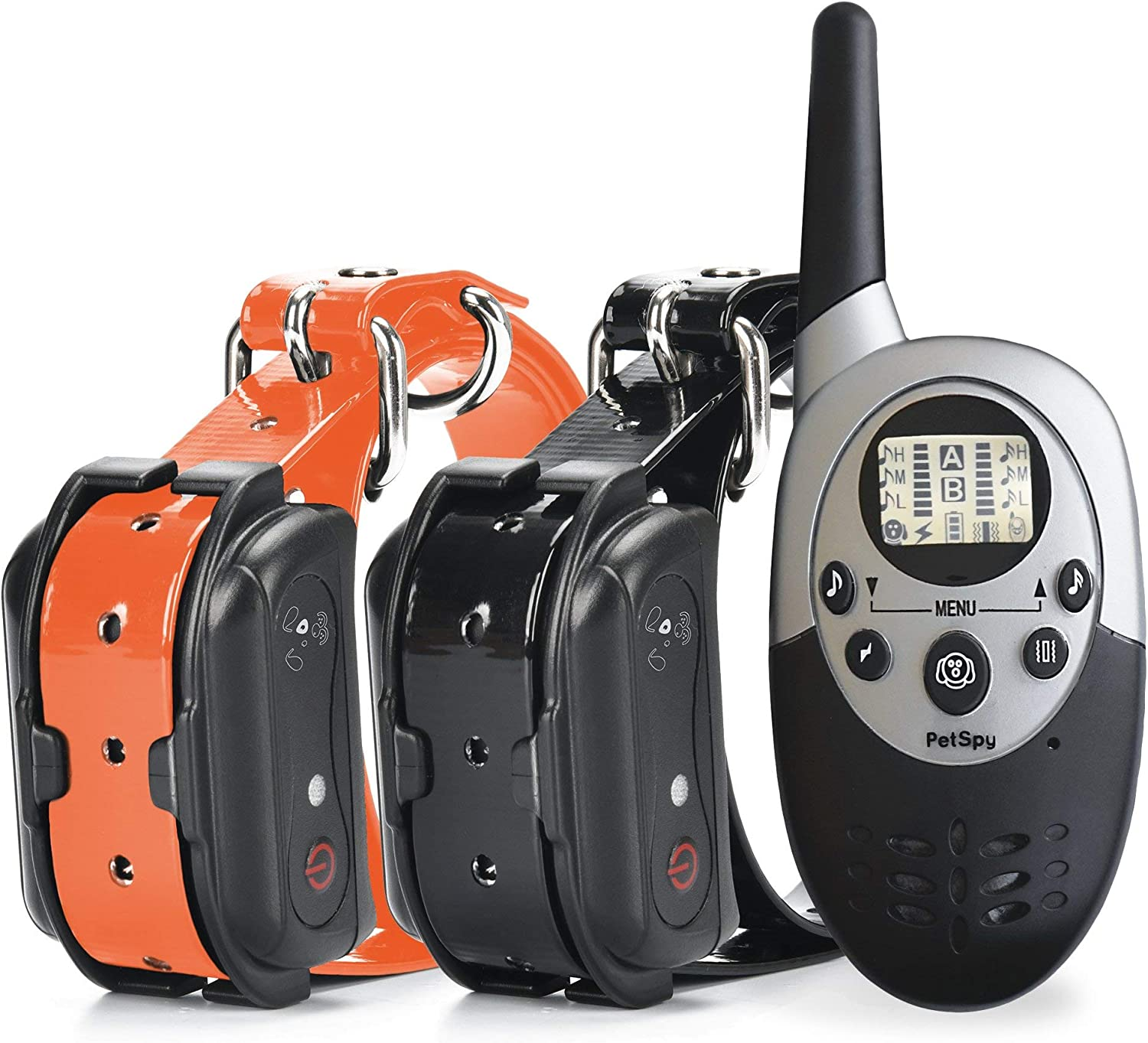 4. PetSpy Waterproof Rechargeable Remote Training Dog Colla