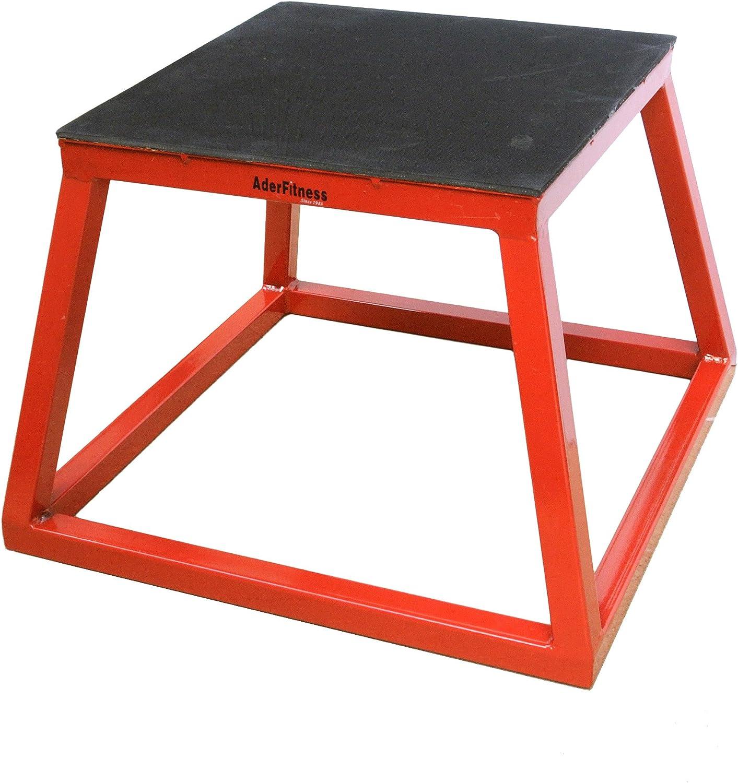 Plyometric Platform Box Set- 12 , 18 Red