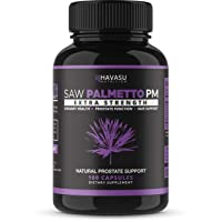 Havasu Nutrition Saw Palmetto Prostate Supplement - Night Time Support for Those...