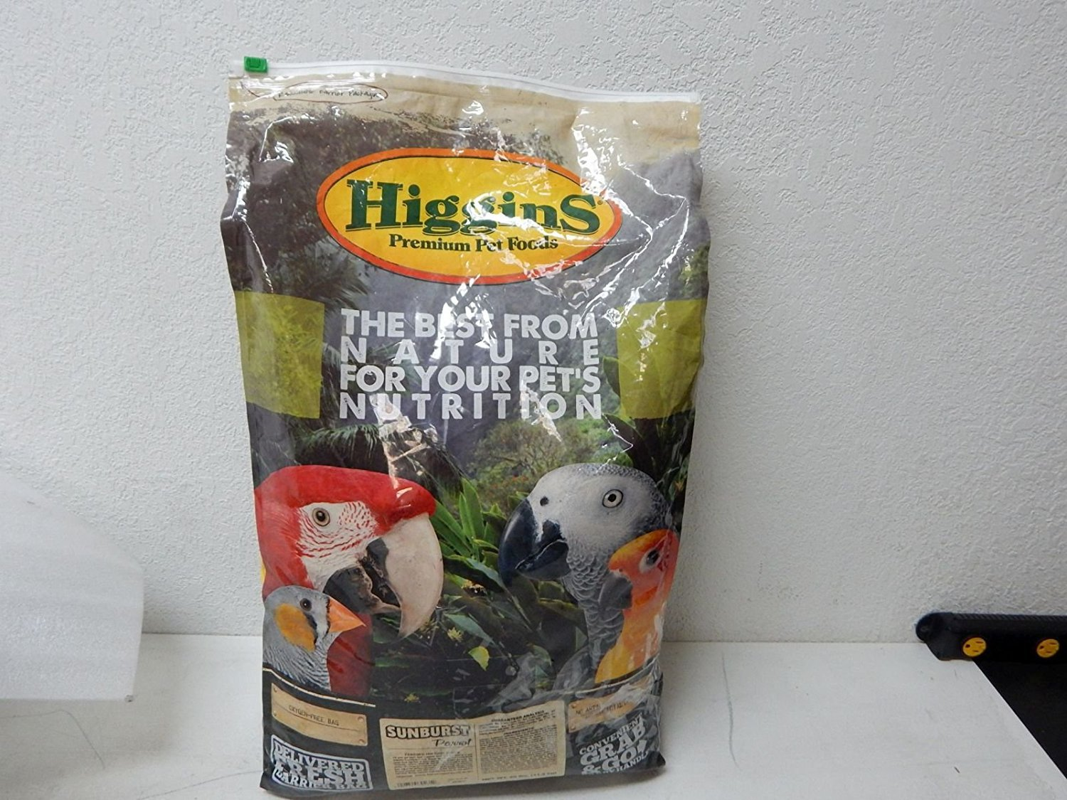Higgins 466186 Higg Sunburst Food For Parrot, 25-Pound by Higgins