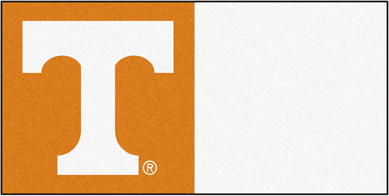 FANMATS NCAA University of Tennessee Volunteers Nylon Face Team Carpet Tiles