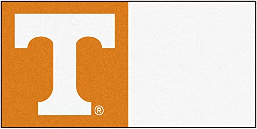 FANMATS NCAA University of Tennessee Volunteers Nylon Face Team Carpet Tiles