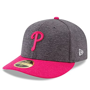 New Era MLB Low Profile 59Fifty Philadelphia Phillies 2017 Mother s Day On  Field Fitted Cap 0901aabe798
