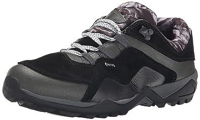 Merrell Women's Fluorecein Waterproof Hiking Shoe, Black, ...
