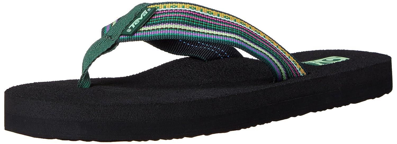 Teva Women's Mush II Flip-Flop B00KXDCUOI 5 B(M) US|La Magenta Green