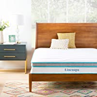 Deals on Linenspa 10 In Memory Foam and Innerspring Hybrid Mattress Twin