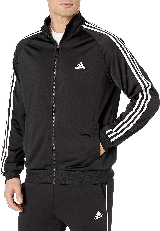adidas Ess 3s Ttop Tri Sweat-Shirt À Capuche Sport Homme