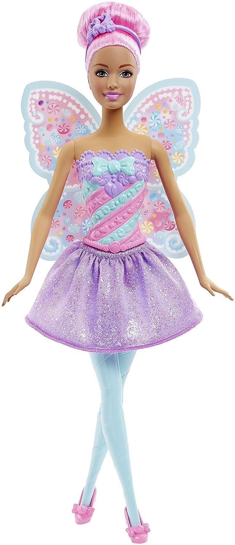 Barbie - Muñeca, vestido de hada, color dulces (Mattel DHM51): Amazon.es: Juguetes y juegos
