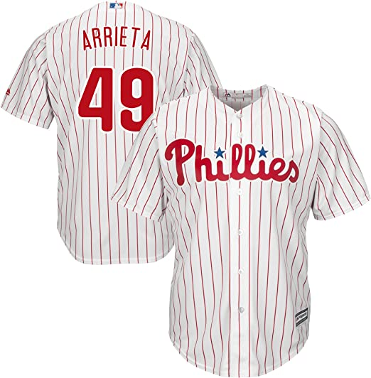 Outerstuff Bryce Harper Philadelphia Phillies White Youth 8-20 Cool Base Home Jersey