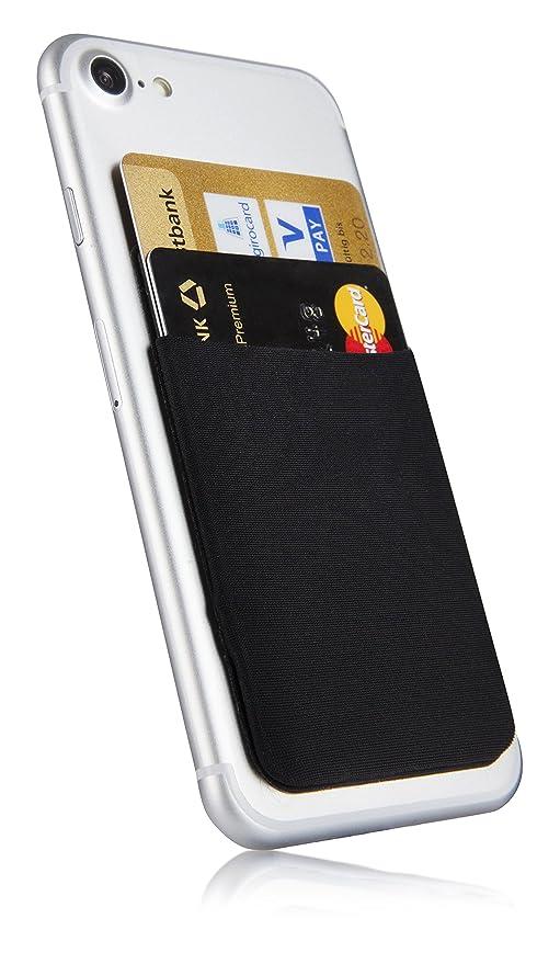 MyGadget Funda Bolsillo Adhesivo para Tarjeta en Todo Tipo de Móvil ó Smartphone: Amazon.es: Electrónica