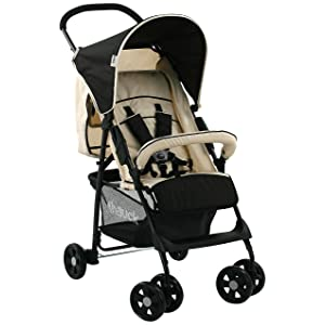 Hauck Sport Buggy - Almond/Black