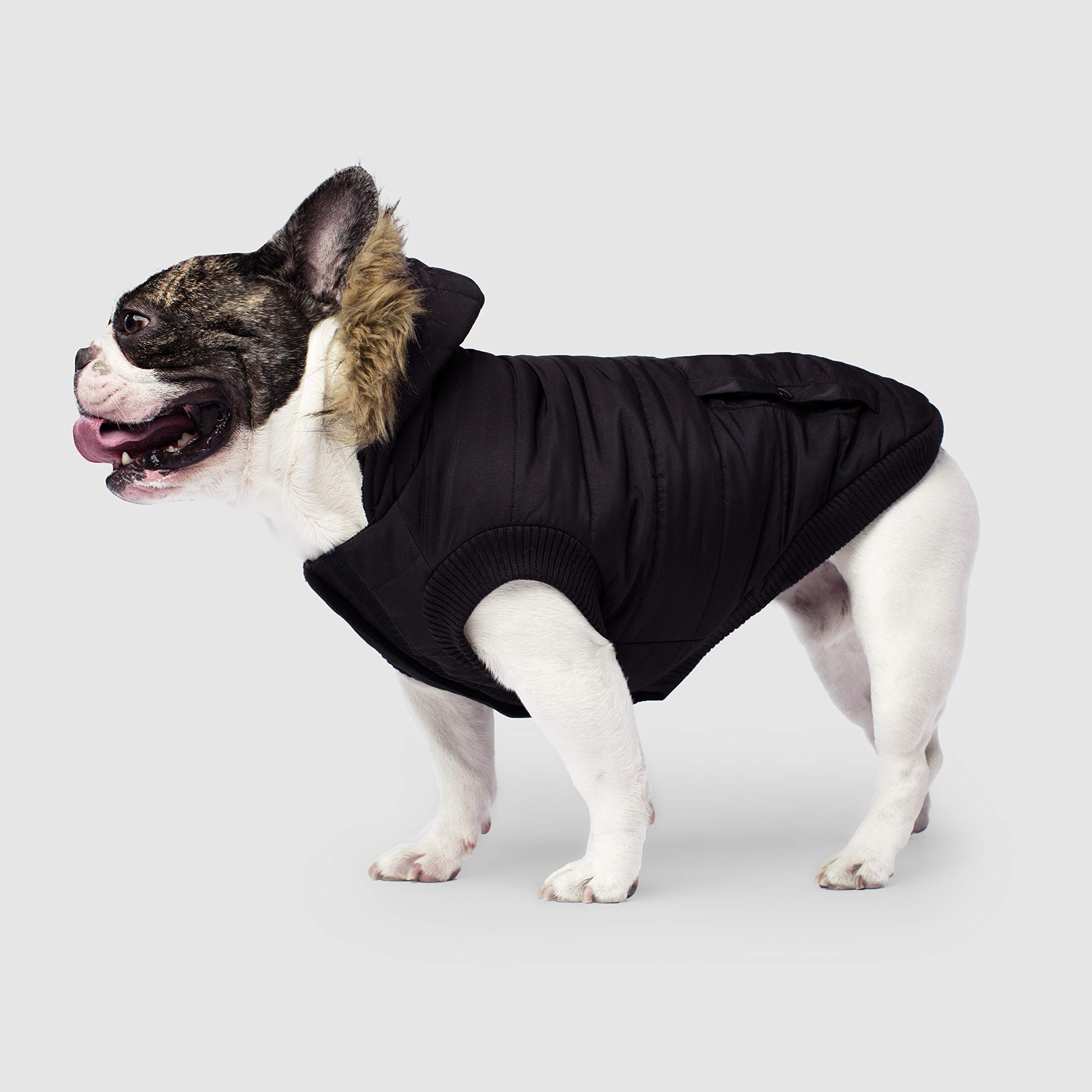Canada Pooch | North Pole Dog Parka | Water-Resistant Insulated Dog Jacket (18, Black) by Canada Pooch