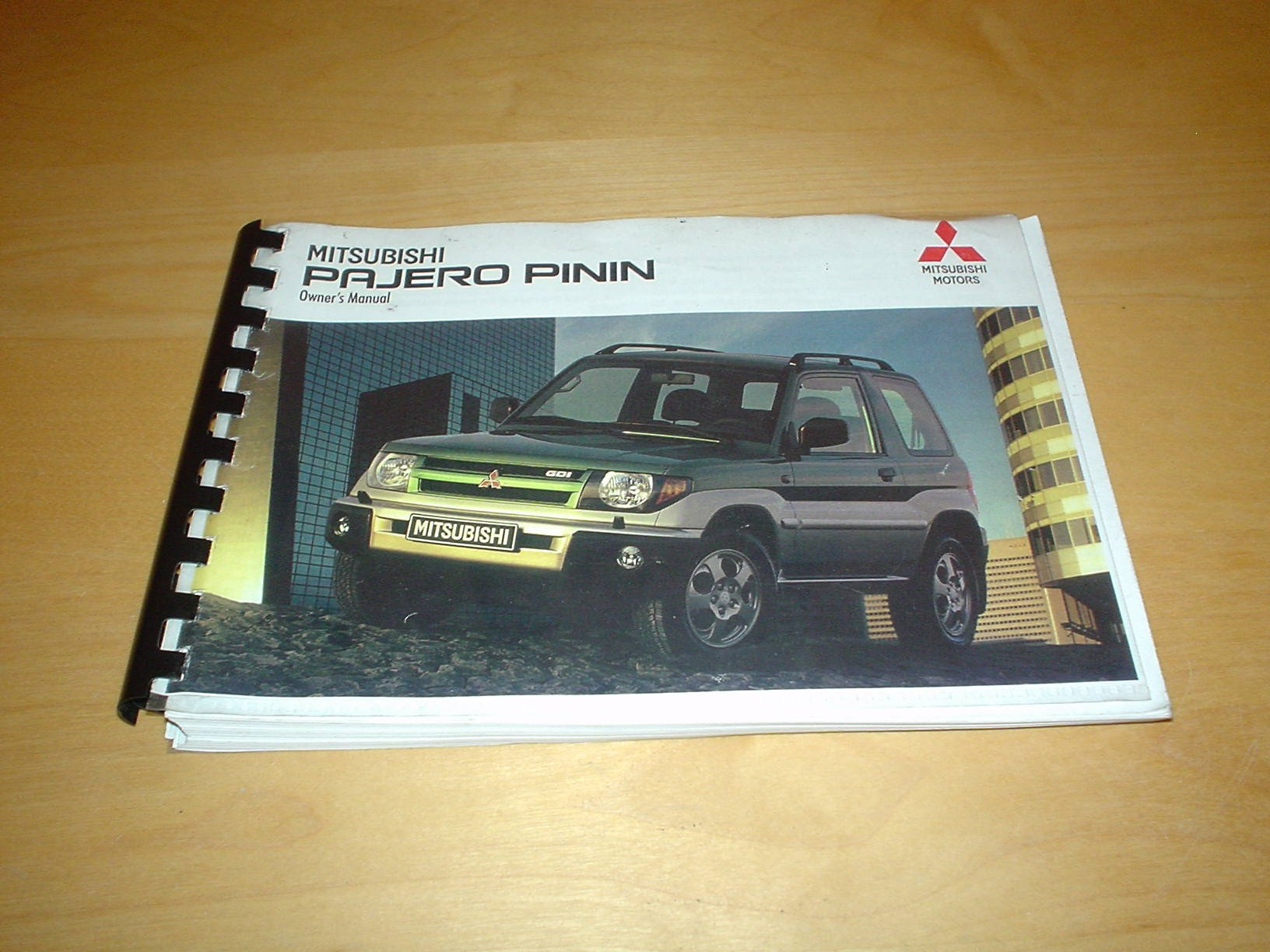 MITSUBISHI SHOGUN / PAJERO PININ OWNERS MANUAL HANDBOOK - 1.8 4G93 2.0 4G94  LITRE ENGINE - OWNER'S HAND BOOK MANUAL: Amazon.co.uk: MITSUBISHI: Books