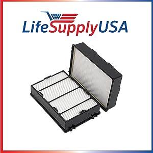LifeSupplyUSA 10 Pack fit to Holmes, HEPA Air Filter Part HRC1, Holmes Part # HAPF600, HAPF600D, HAPF600D-U2