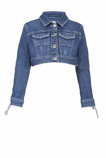newest 2d67c d30b0 Jeans Up itAbbigliamento Pinko SAmazon Giubbino Bambina 0wnPkX8O