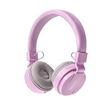 Kosee Kids BTHP2 Auriculares Inalámbricos Bluetooth con Limitación de Volumen para Niños y Niñas de 3+ (Rosa): Amazon.es: Electrónica