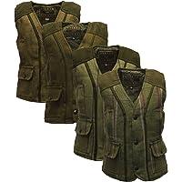 Walker & Hawkes - Baby Kids Tweed Waistcoat Bodywarmer Fitted Gilet Wool