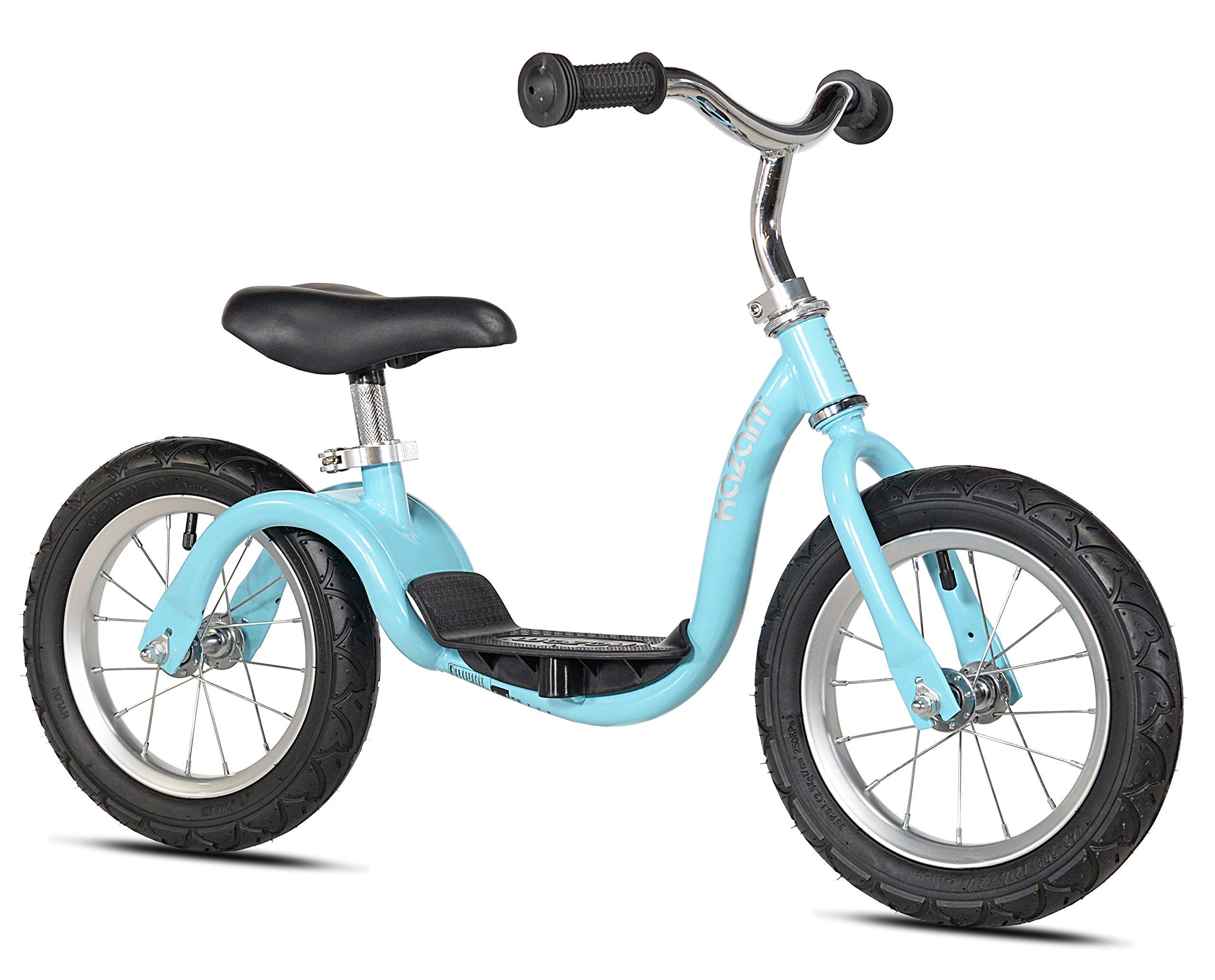 KaZAM v2s No Pedal Balance Bike, 12-Inch, Metallic Light Blue by KaZAM (Image #1)