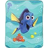 "Disney/Pixar Finding Dory Stingray Friends Silk Touch Plush Throw, 46"" x 60 """
