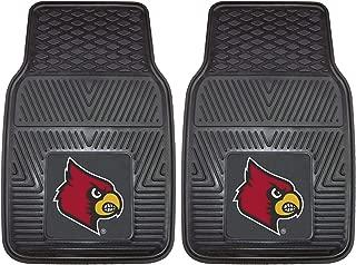 "product image for FANMATS 8916 NCAA University of Louisville Cardinals Vinyl Heavy Duty Car Mat Team Colors, 18""x27"""