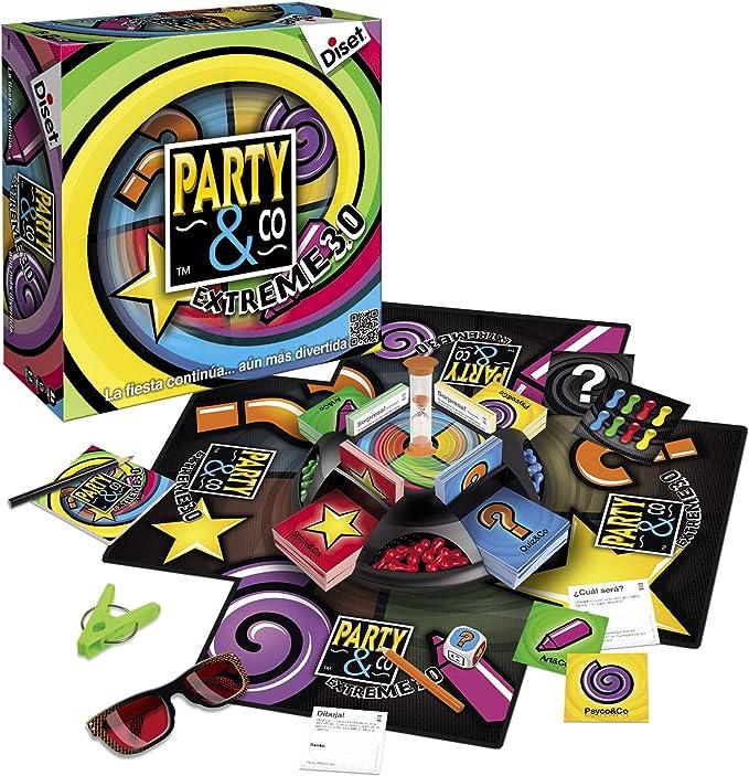 Diset - Party & Co Extreme 3.0 (10089): Amazon.es: Juguetes y juegos