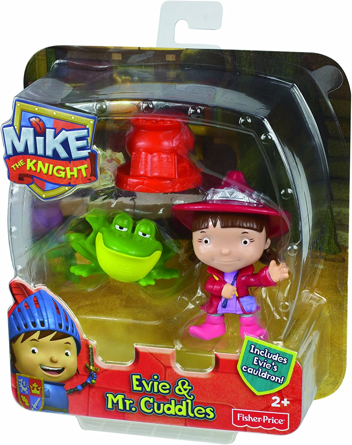 Mike The Knight Figure Toy Fisher-Price Evie /& Mr Cuddles