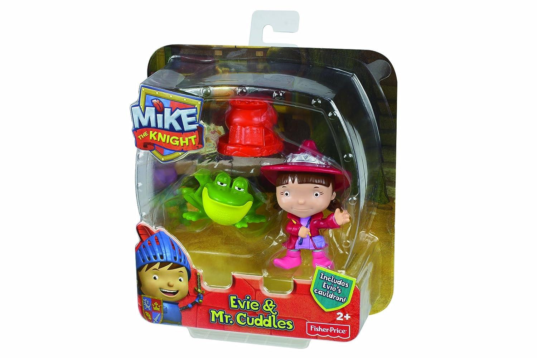 Mike el Caballero - Pack de Figuras de acción, Mike y Galahad (Mattel Y8367)