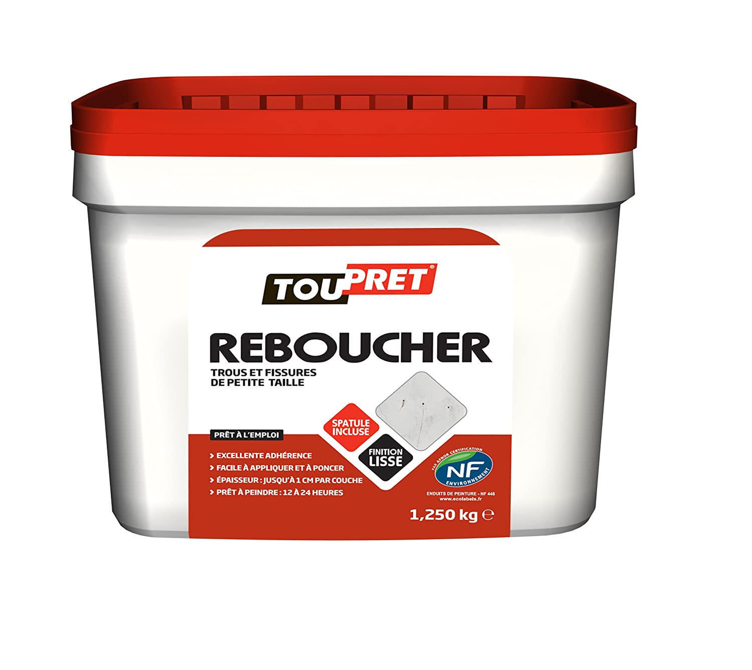 Toupret 170030  Filler Paste 1.25 kg TP170030
