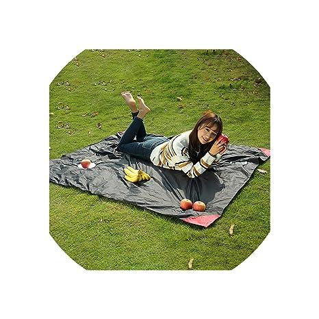 Outdoor Sleeping Gear Camping & Hiking Equipment Portable Folding Beach Pocket Blanket Camping Mat Waterproof Outdoor Picnic Mat