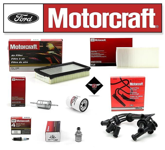 Amazon.com: TUNE UP KIT 2000-2003 FORD FOCUS 2.0L L4 DOHC FL400S SP478 WR5974 FA1688 EV250A: Automotive