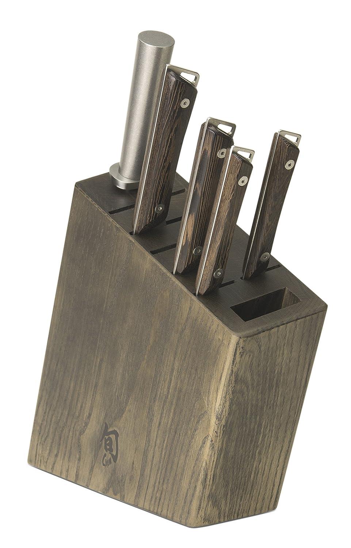 Shun SWTS0600 Kanso 6-Piece Block Set