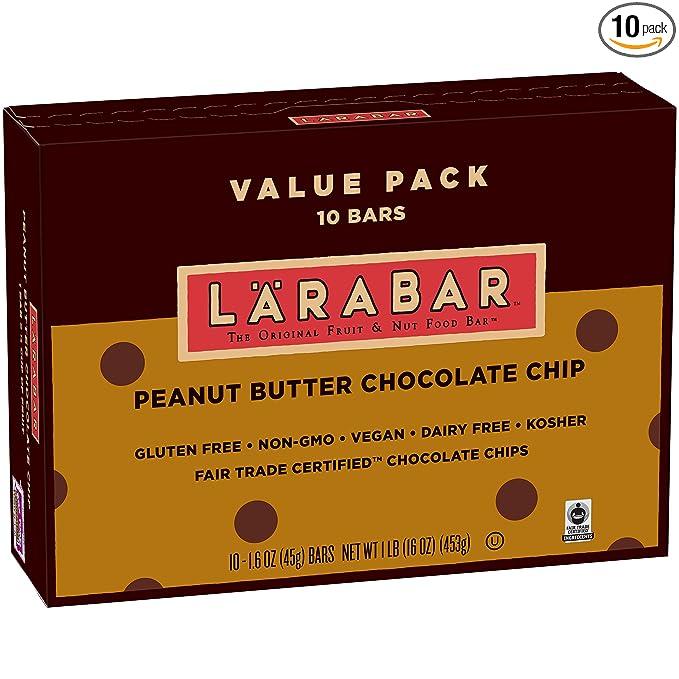 Larabar, Gluten Free Bar, Peanut Butter Chocolate Chip, 16 oz