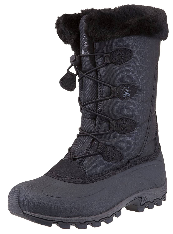 Kamik Women's Momentum Snow Boot B01697WDDE 10 B(M) US|Black Ii