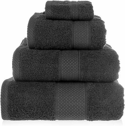 HOMESCAPES Toalla baño Grande, 100% algodón Turco Absorbente y ...