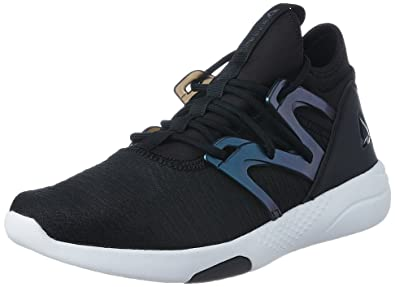 1801e6dca30b Reebok Hayasu Ltd, Chaussures Multisport Indoor Femme,  Multicolore-Noir/Blanc (Black