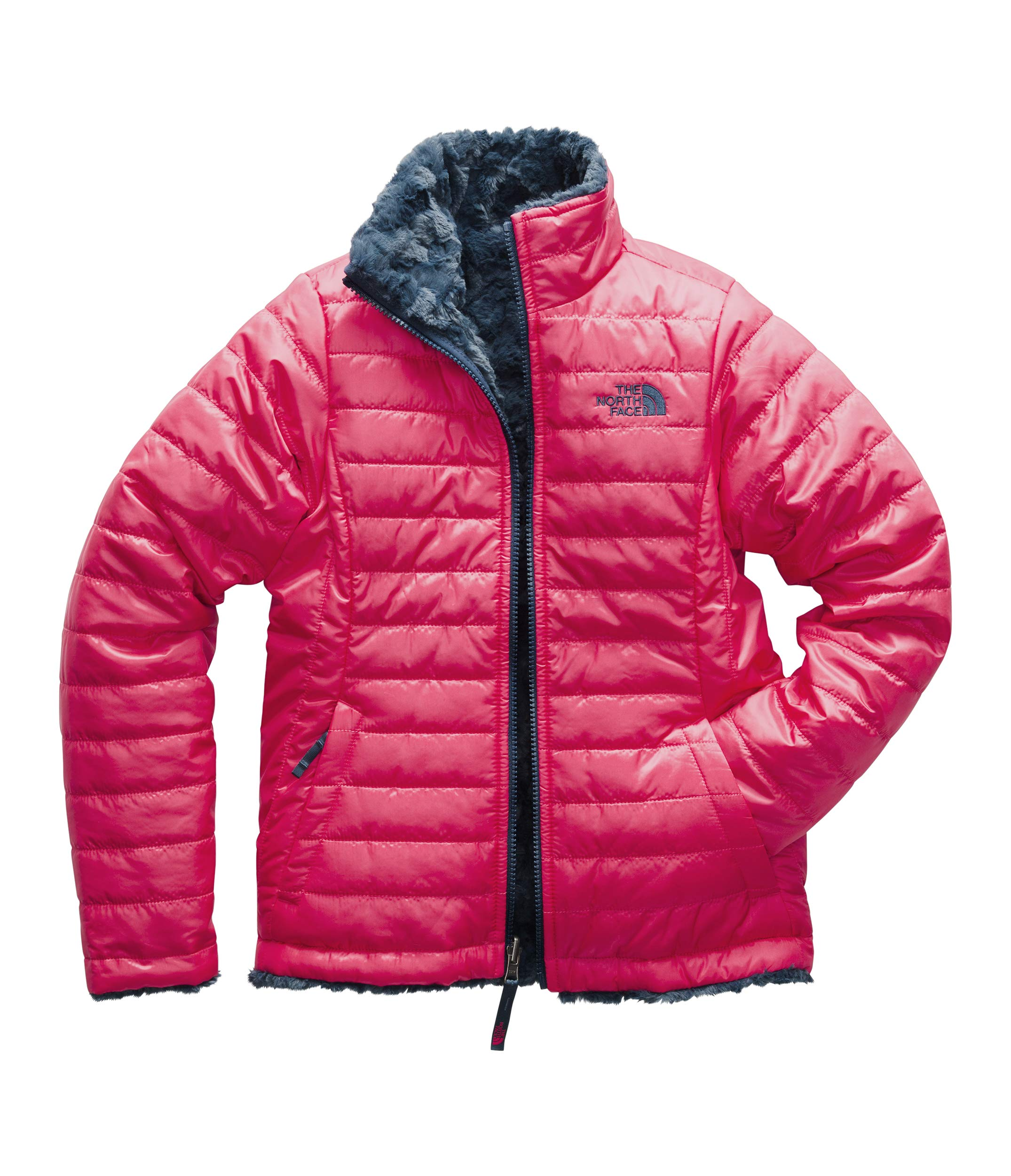 d3c0d57e4c67 Galleon - The North Face NF00CN01 Girls' Reversible Mossbud Swirl ...