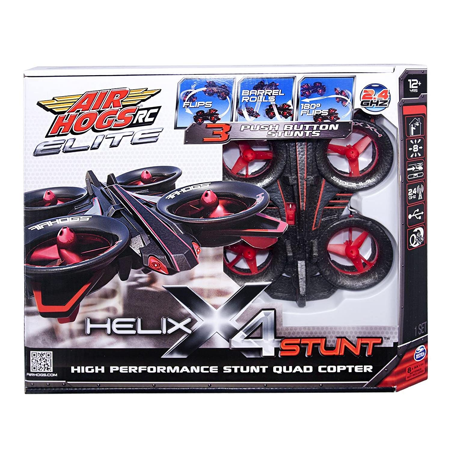 Air Hogs RC Helix X4 Stunt 24 GHZ Quad Copter Amazonca Toys Games