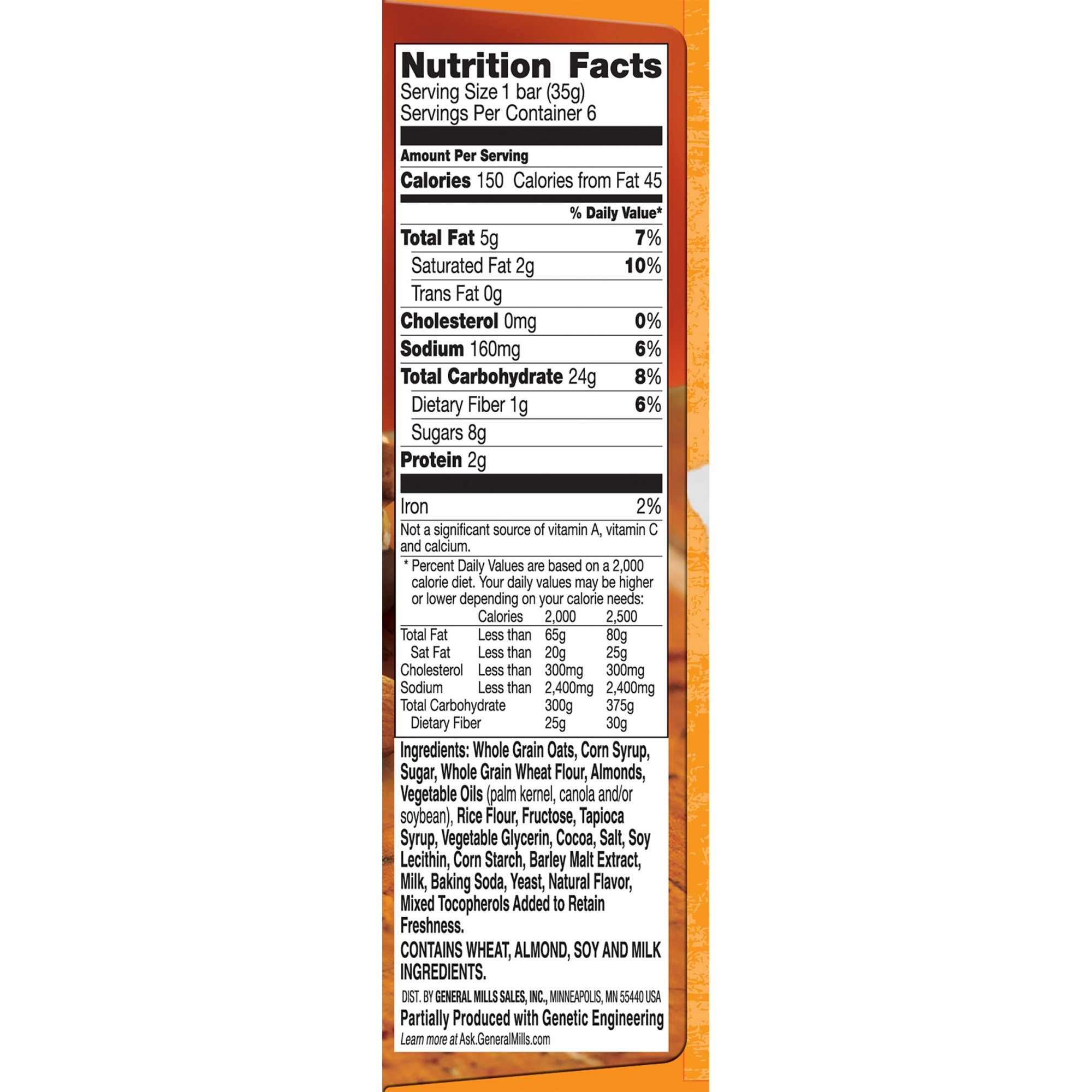 Nature Valley Granola Bars, Sweet and Salty Nut, Chocolate Pretzel Nut, 6 Bars - 1.2 oz (Pack of 5)